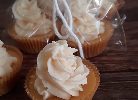 Banana Pecan Mini Cupcake Wax Melts