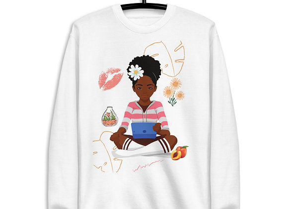 Goddess Energy Unisex Fleece Pullover