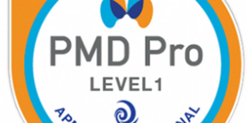 PMD Pro Level 1 - Training
