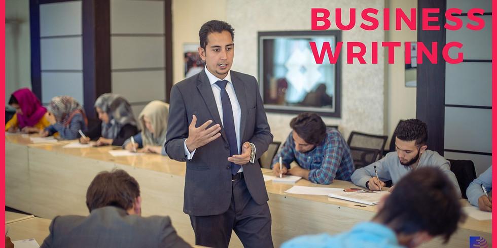 Business Writing - Round 2