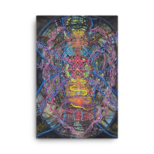 Merkabalah (canvas print)
