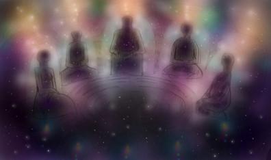 Journey in Stillness (astral reception)