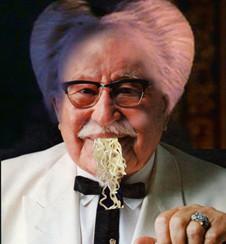 Bram Stoker's Fried Chicken Noodle Beard
