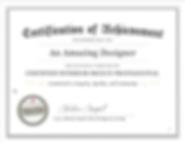Certified InteriorDesign Professionl Certfication
