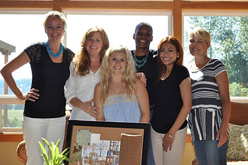 Interior Designer Chelsea Coryell Owner of Design for a Living Hosts Live Event in Snohomish