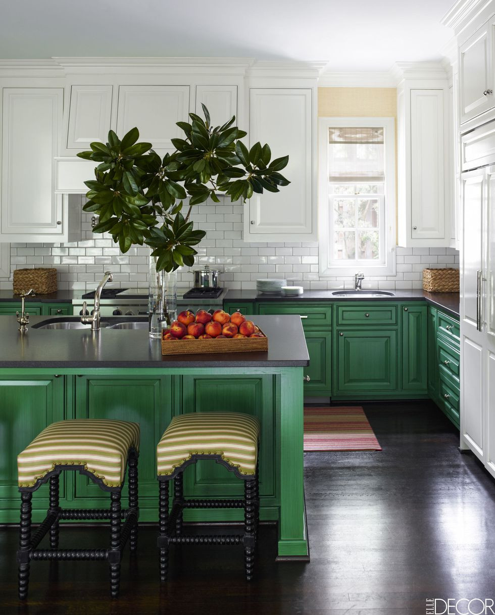 Green cabinets are hot for Interior Designers this year