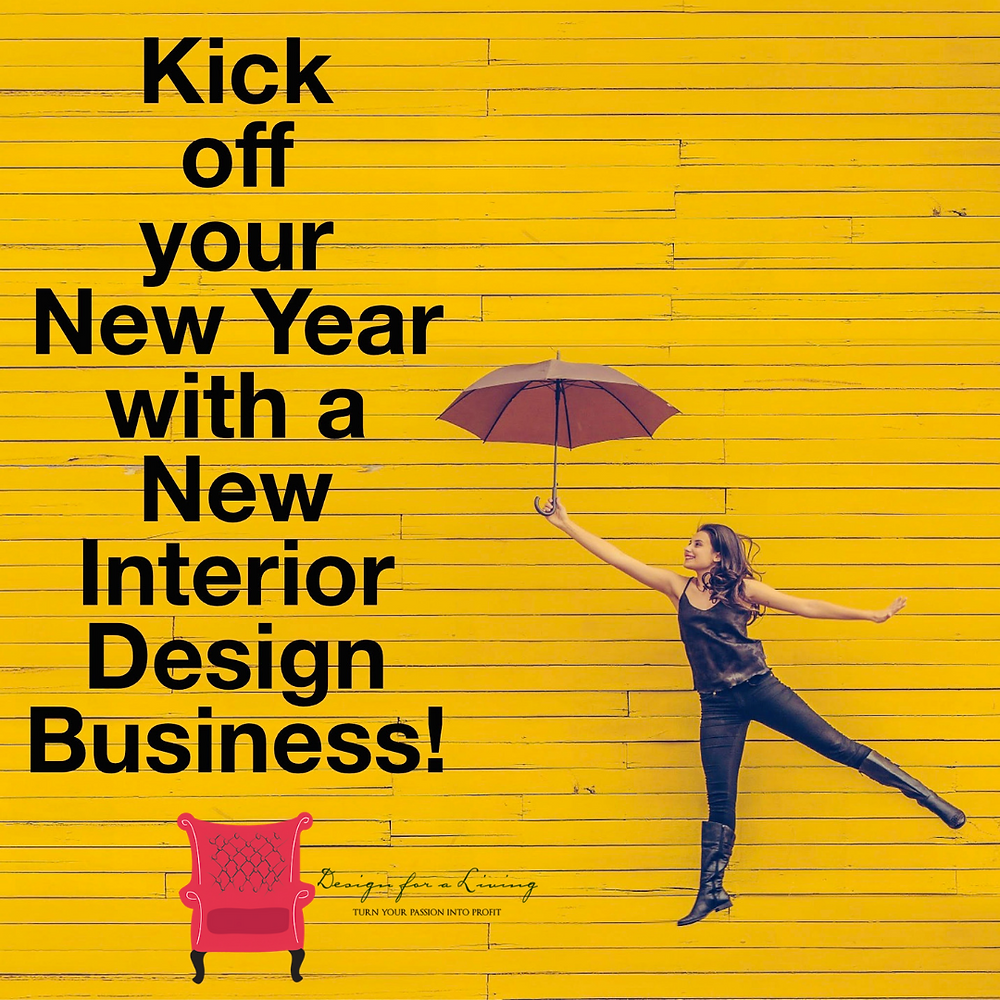 new year interior design business goals and success plans