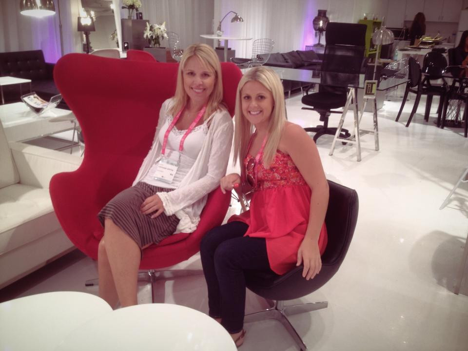 Interior designers at Las Vegas Market in 2014