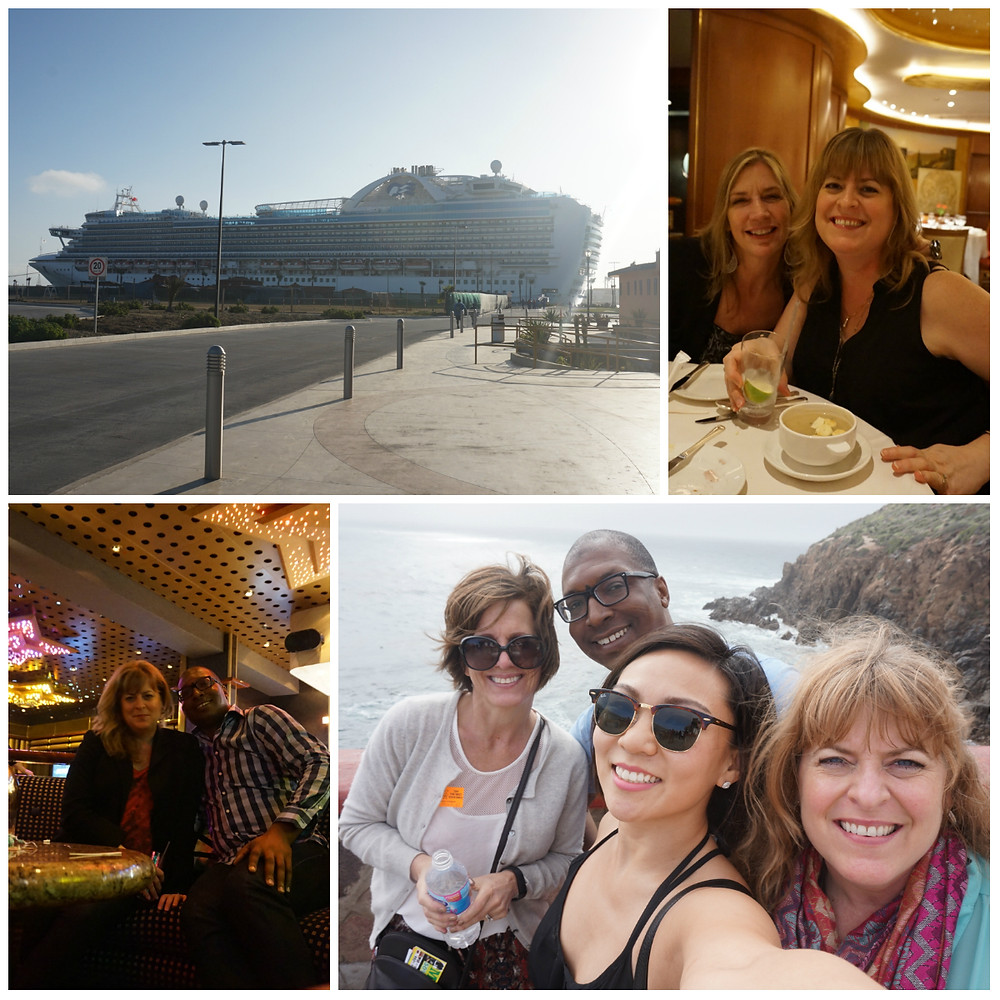 Interior Designers on a Cruise