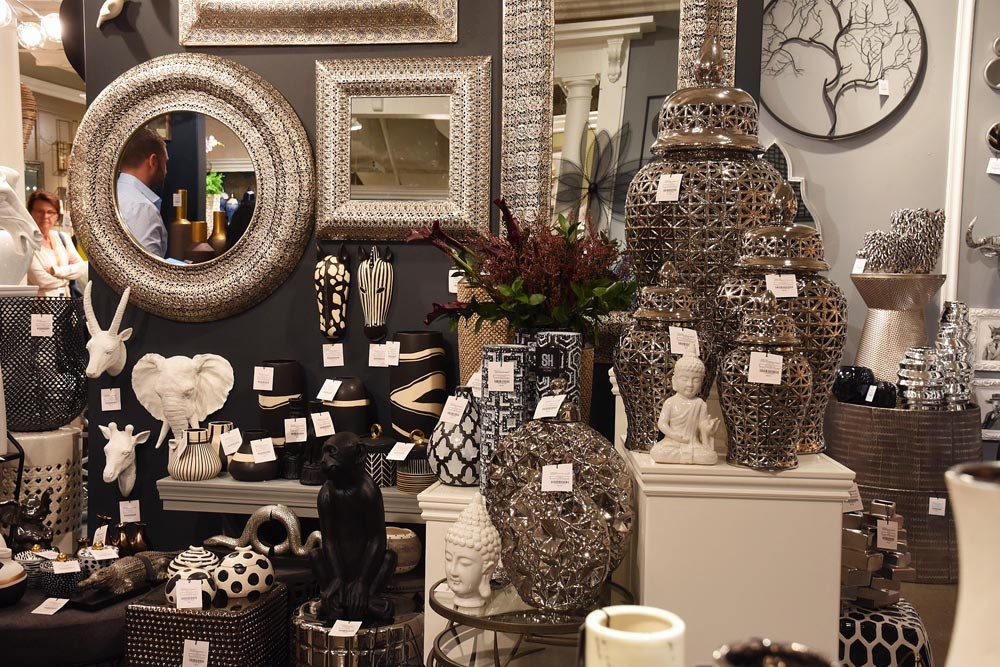Wholesale furniture showroom in the Las Vegas Market