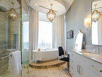 Timothy Rivers Interiors Master Bathroom