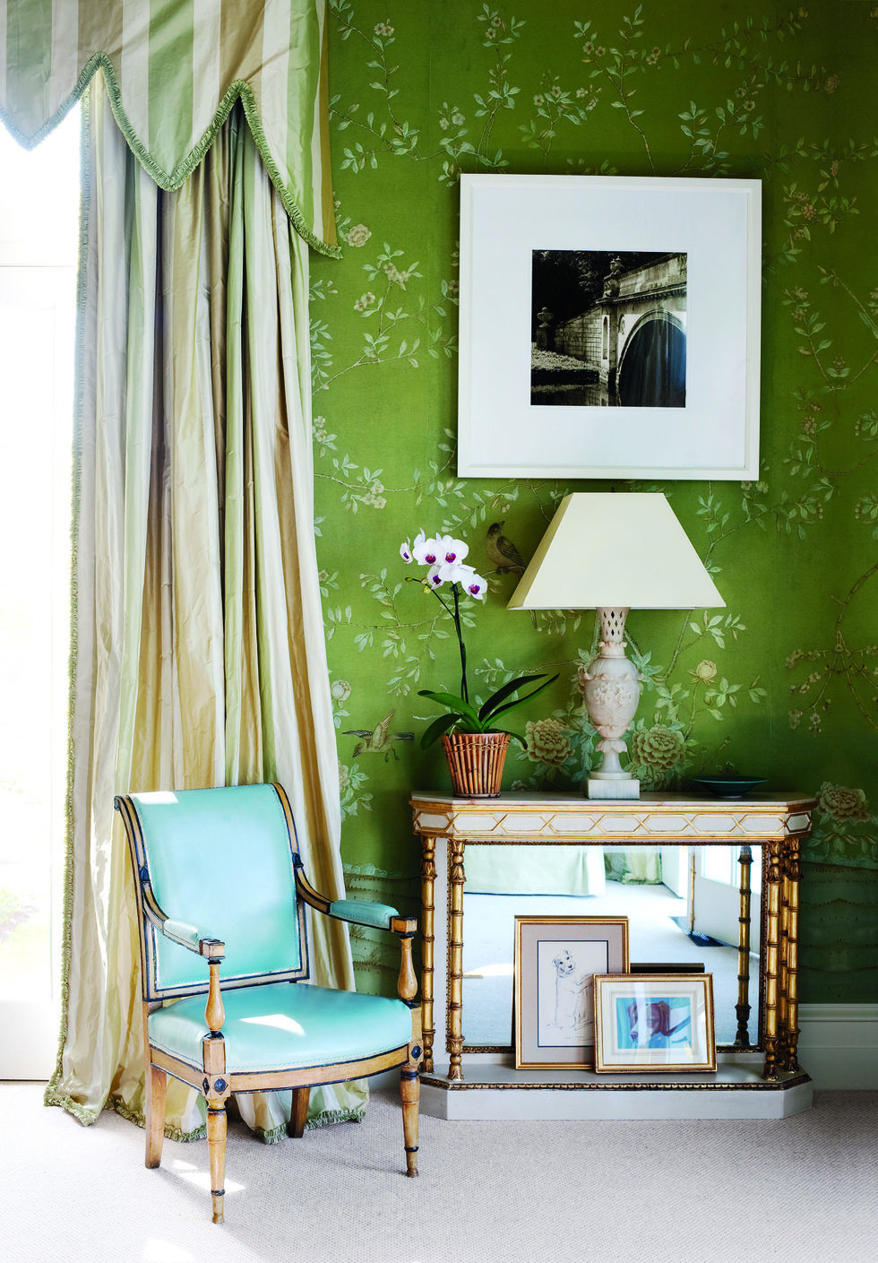 Interior Designers are using green in their designs
