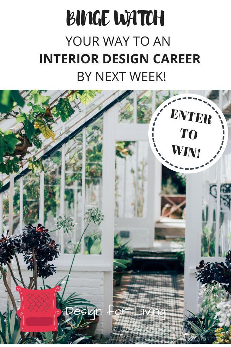 Win a Membership in my interior design training program