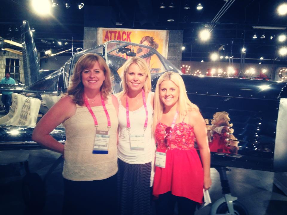 Interior Designer Chelsea Coryell from Design for a Living at Las Vegas Market 2014