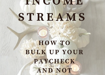 Adding Income Streams: How to bulk up your paycheck and not your schedule