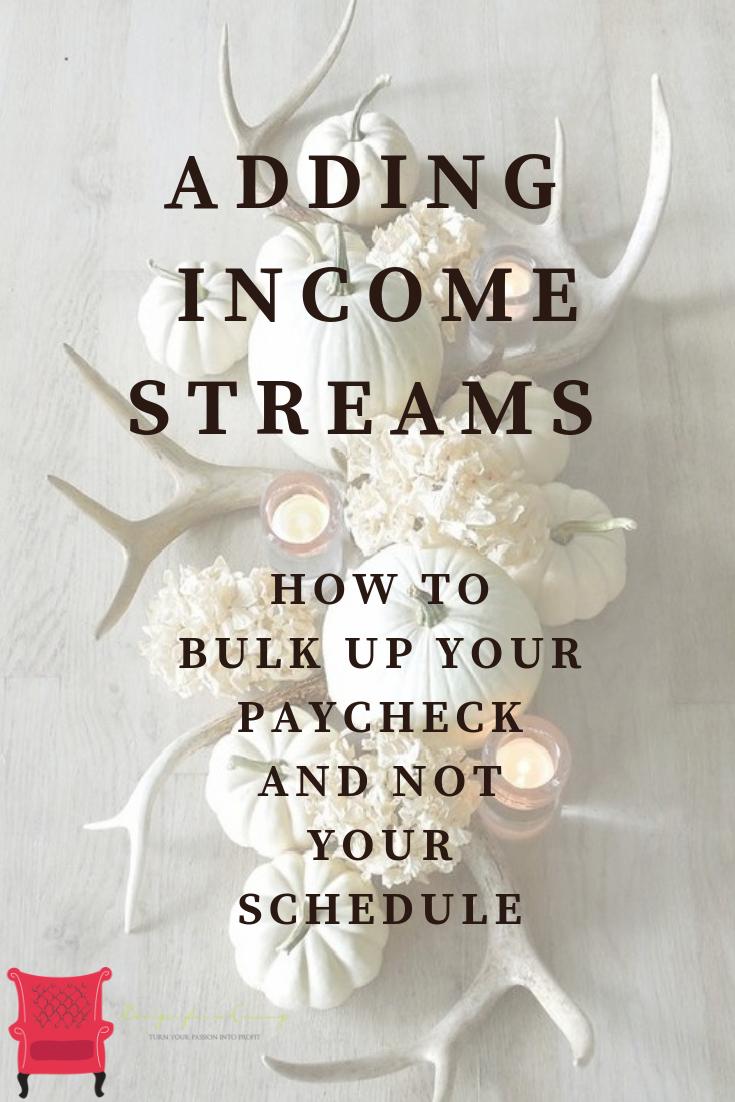 adding interior design income streams to make 6 figures and run a successful home decor business