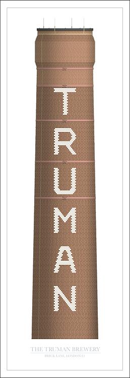 Truman Brewery Brick Chimney - 330mm x 950mm