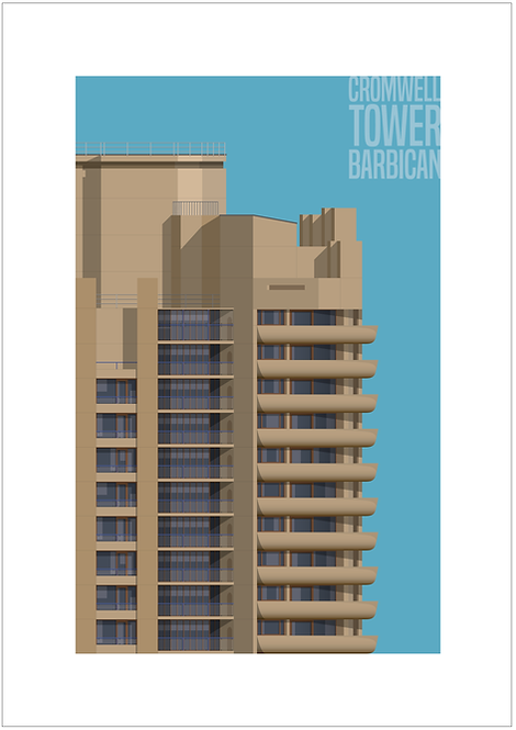 Cromwell Tower - 594mm x 840mm