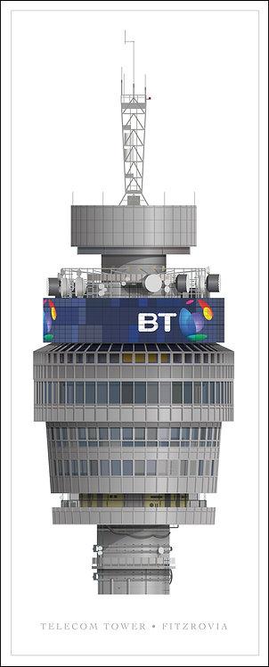 Telecom Tower - 500mm x 1000mm