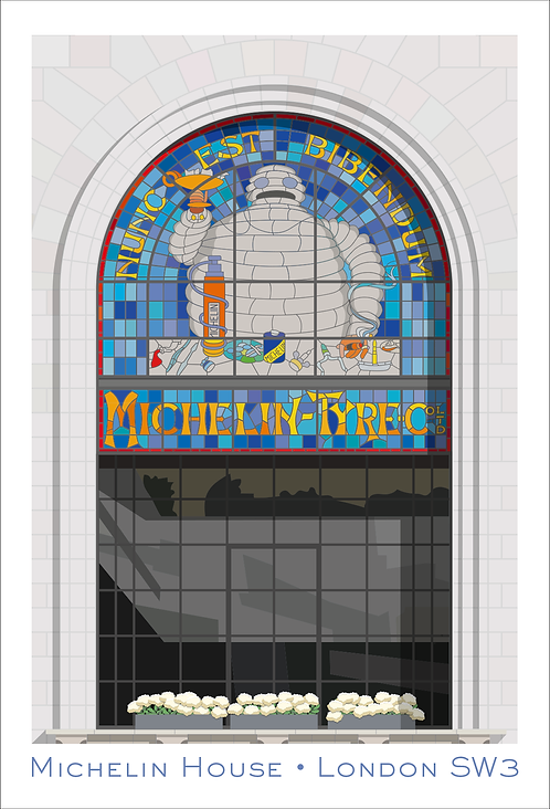 Michelin House Section - 594mm x 840mm