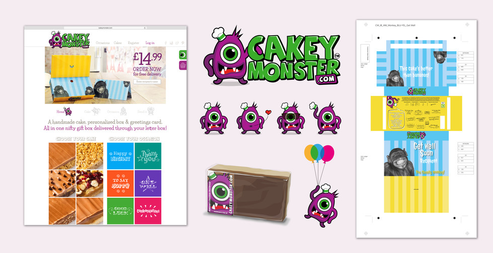 CakeyMonster.com project
