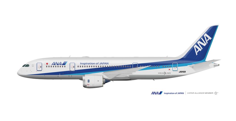 All Nippon Airways Boeing 787-800