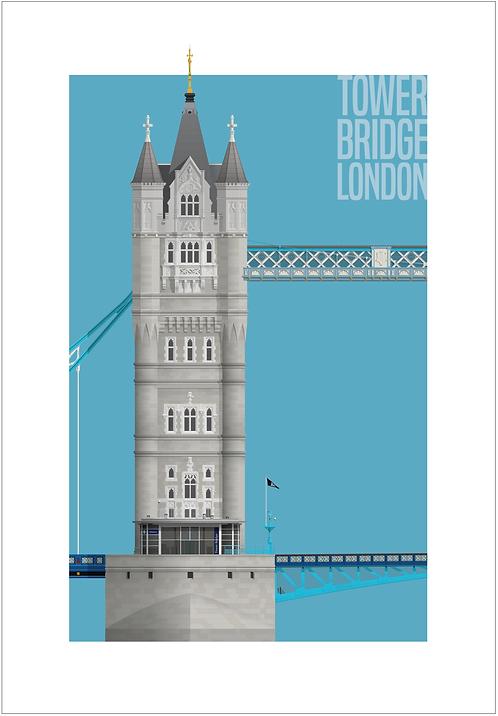 Tower Bridge - 594mm x 840mm