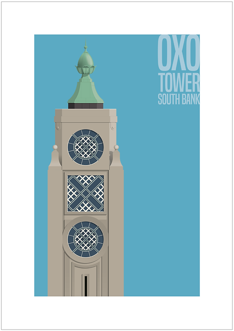 OXO Tower - 594mm x 840mm