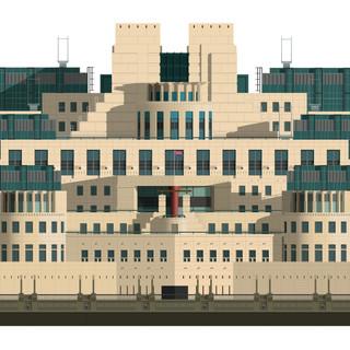 SIS (MI6) Building, Vauxhall