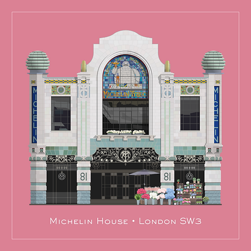 Michelin House - 594mm x 594mm