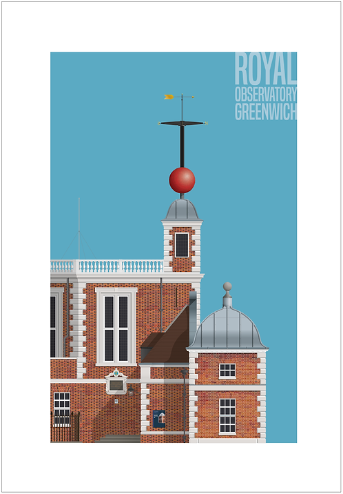 Royal Observatory, Greenwich - 594mm x 840mm
