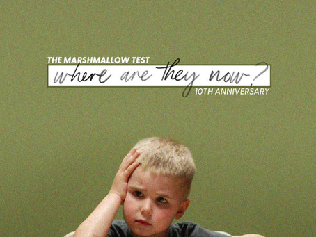 Where Are They Now: The Marshmallow Test's 10th Anniversary
