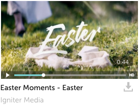 Easter Moments Bumper