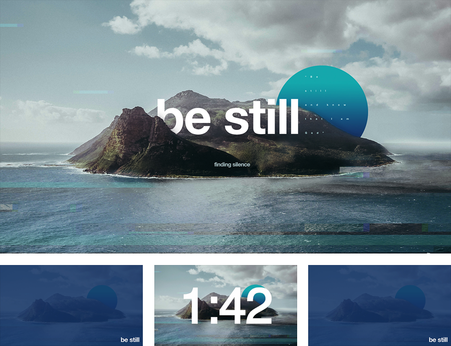 Sermon Series: Be Still