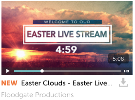 Easter Clouds - Live Stream