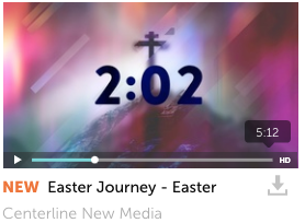 Easter Journey Countdown