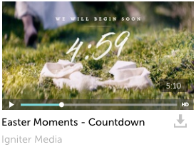 Easter Moments Countdown