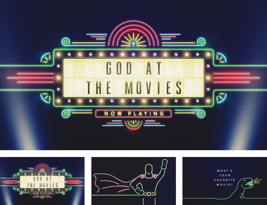 Sermon Series: God At The Movi