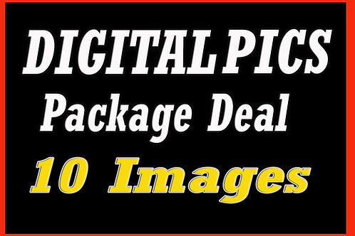 10 Digital Picture Files Package - TEN Image Package