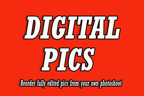 1 Digital Picture File - ONE Edited Image