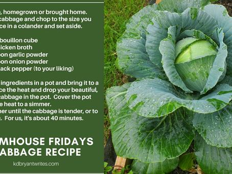 Farmhouse Fridays | Cabbage Recipe
