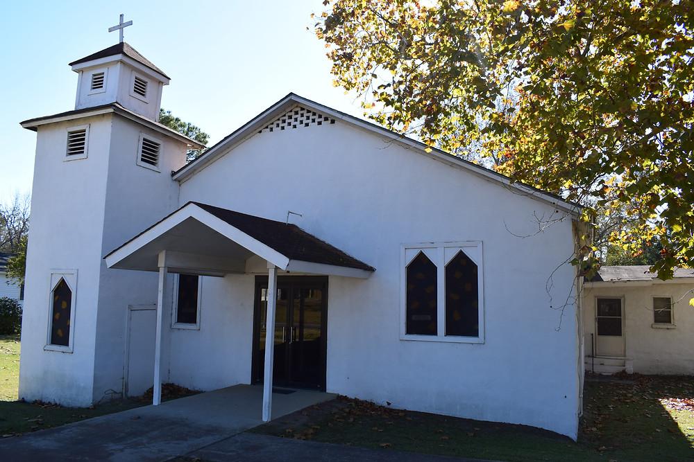 Ebenezer Baptist Church, Vienna, Ga. My home church.