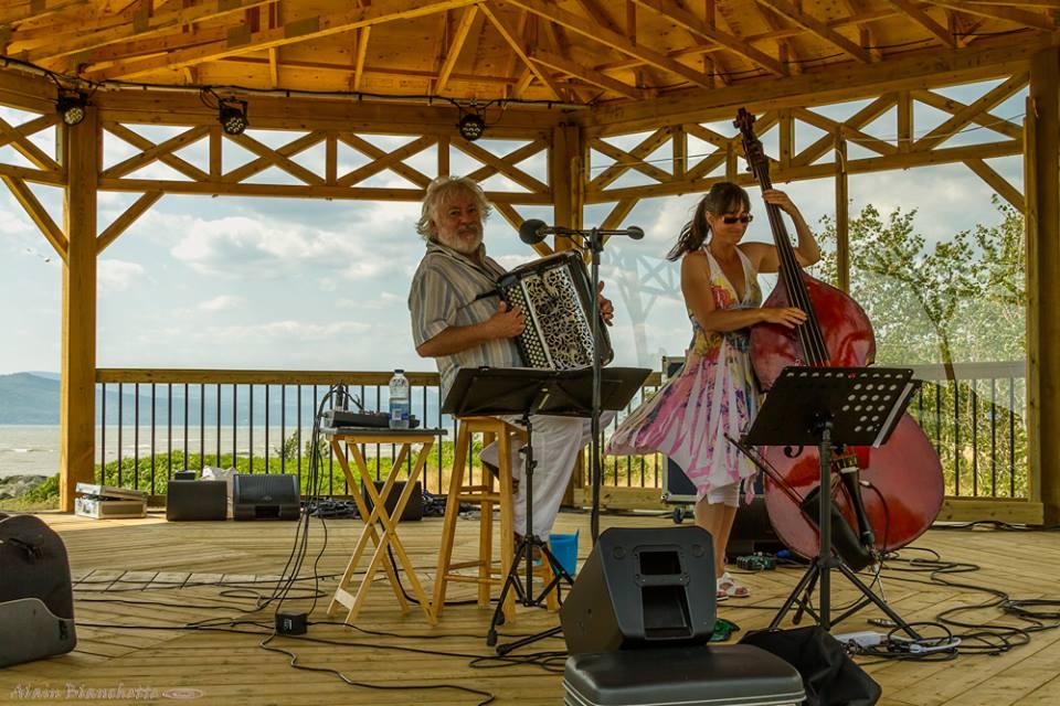 vent-Didier Dumoutier et Patricia Deslauriers en concert live: Havre musical de