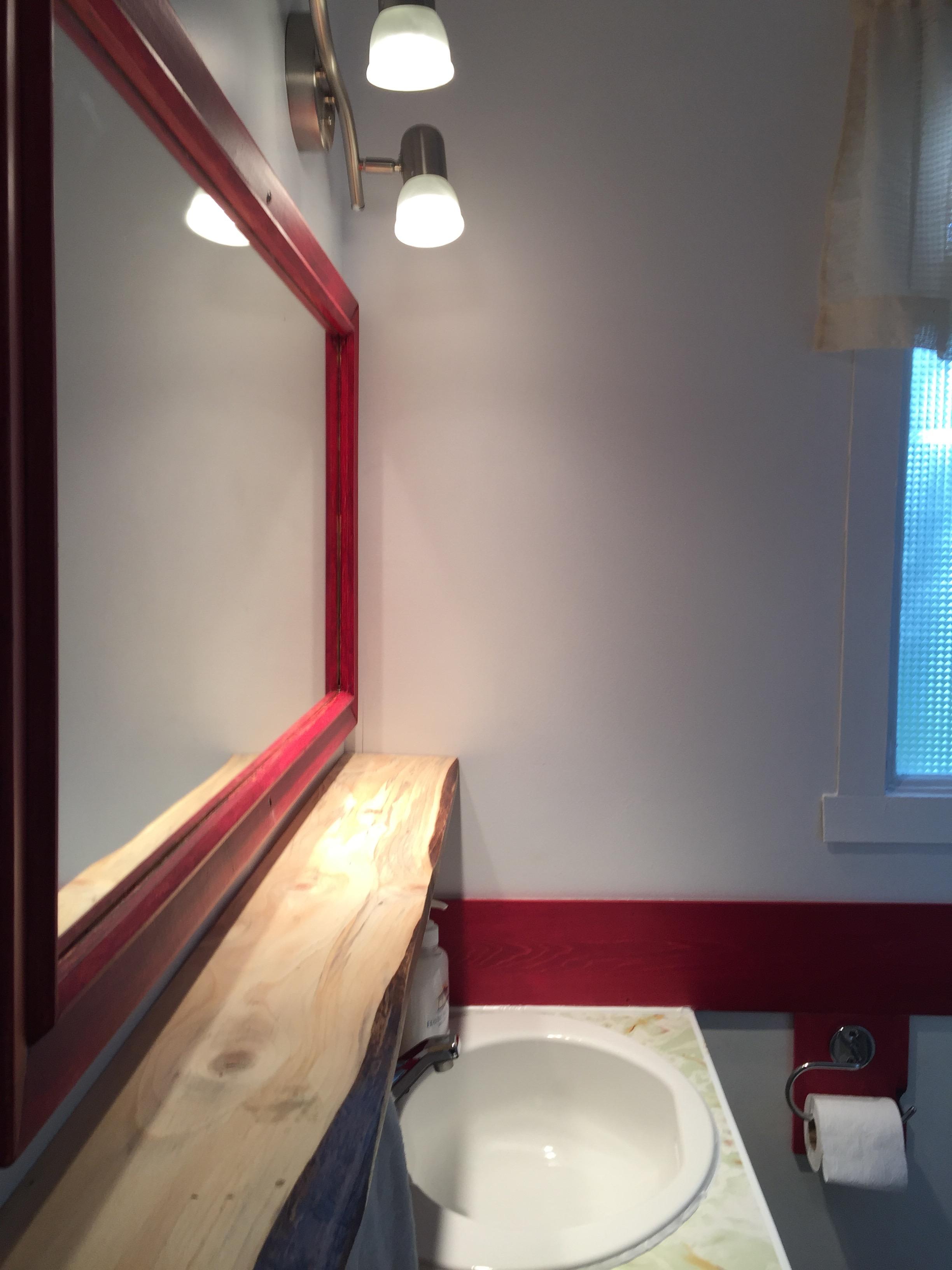 La salle de bain du petit Chalet