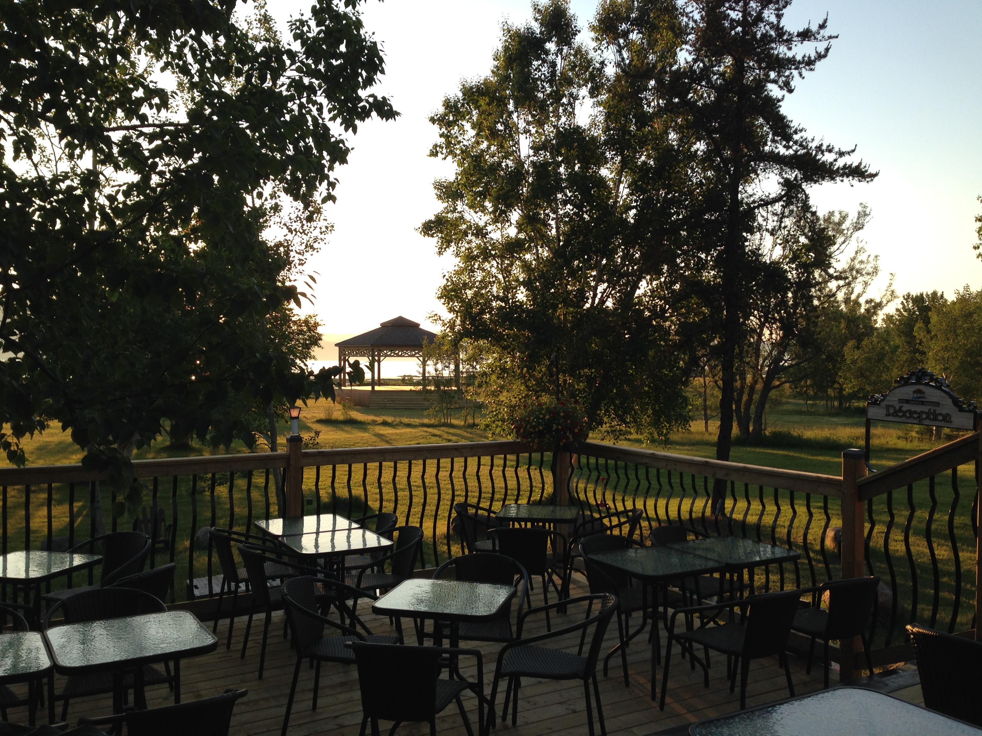 Café terrasse.