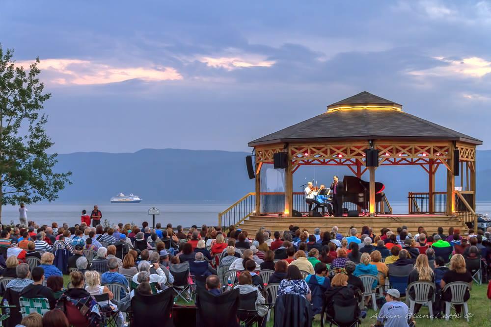 Concert Marc Hervieux au Havre musical de l'islet