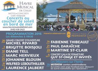 Le Havre Musical de l'Islet à l'Isle-aux-Coudres dans Charlevoix.