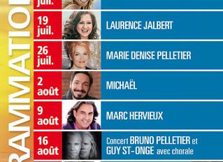 Concerts au coucher du soleil en bord de mer / Isle-aux-Coudres / Charlevoix