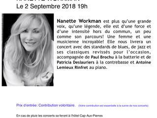 Nanette Workman dans Charlevoix!