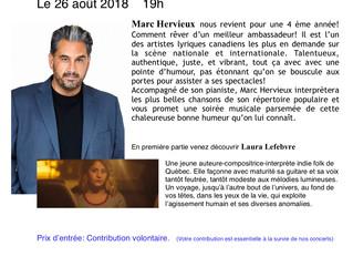 Le divin Marc Hervieux pour une 4ème année!